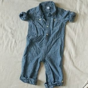 Baby Gap one piece Jean outfit